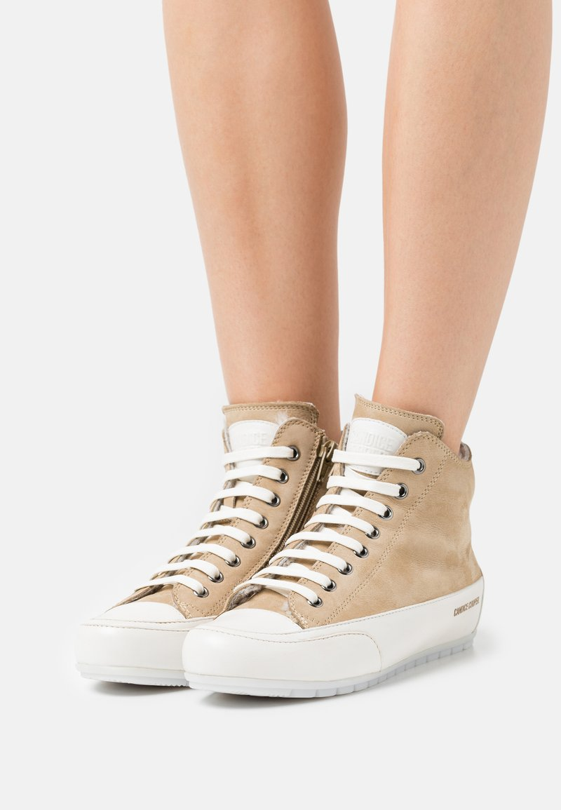 Candice Cooper - PLUS - High-top trainers - tamponato/panna