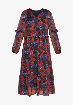 YASDAPHNE MIDI DRESS - Denní šaty - etruscan red