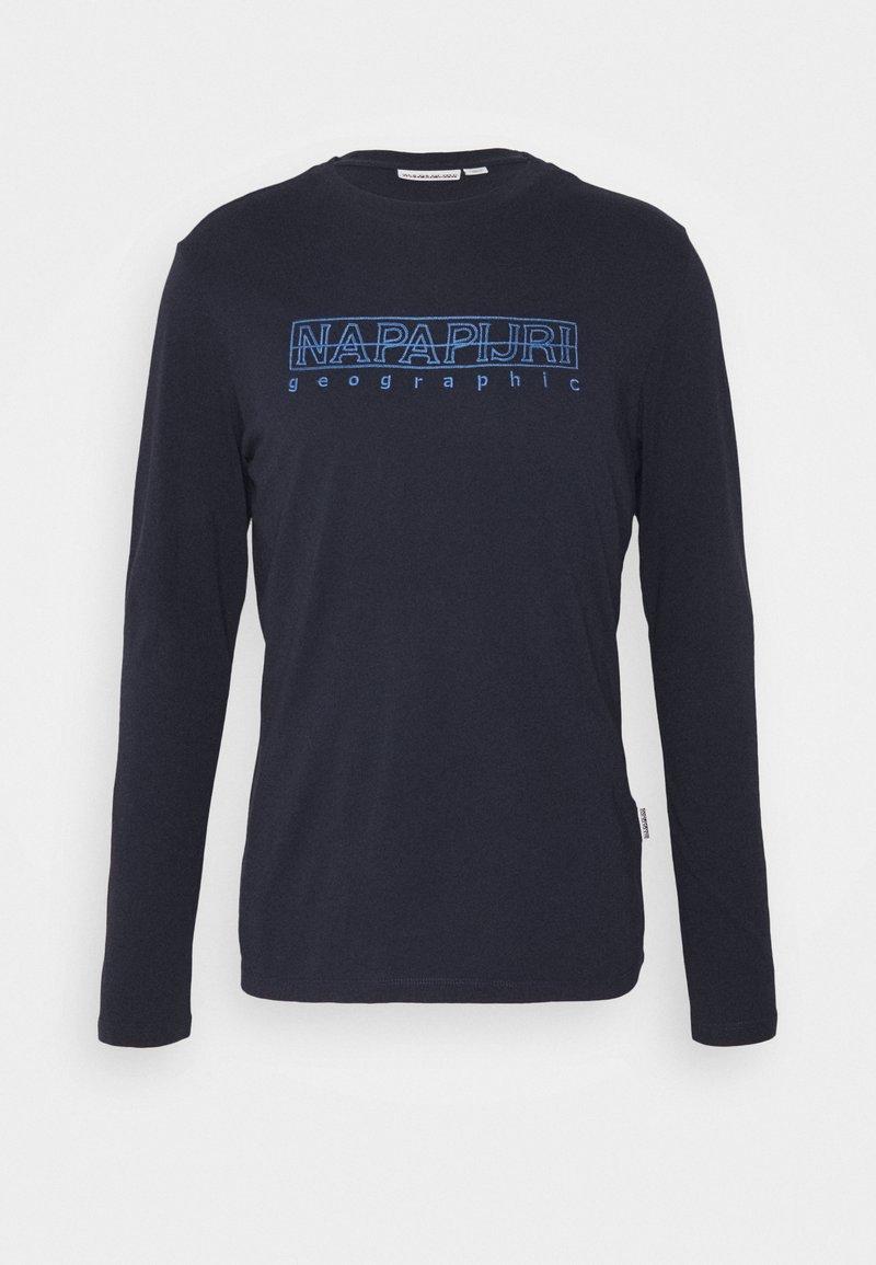Napapijri - SEBEL - Langærmede T-shirts - blu marine