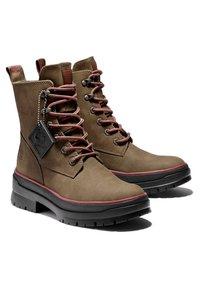 Timberland - MALYNN MID LACE EK+ WP - Lace-up boots - olive nubuck - 2