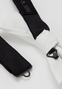 Shelby & Sons - GOTH BOW - Bow tie - white - 3