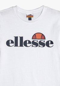 Ellesse - MALIA - T-shirt print - white - 3