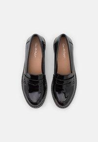Miss Selfridge - FLEX CHUNKY LOAFER - Mocassins - black - 5