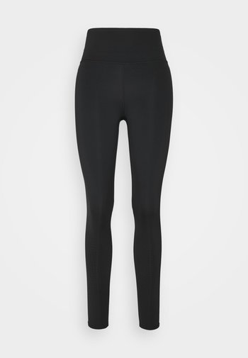 CLOUD ROLL - Leggings - black
