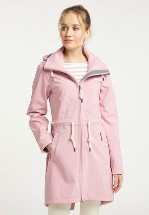 Krátký kabát - pfirsichrosa