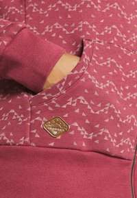 Ragwear Plus - NESKA PRINT ZIP - Zip-up sweatshirt - raspberry - 5