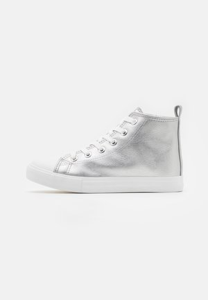 CLASSIC LACE UP - Zapatillas altas - silver metallic