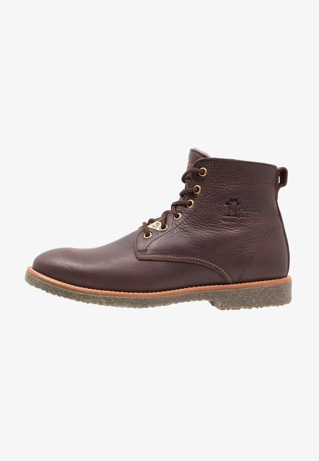 GLASGOW IGLOO - Šněrovací kotníkové boty - brown