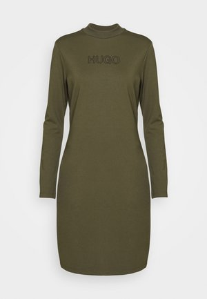 DASSY - Žerzejové šaty - beige/khaki