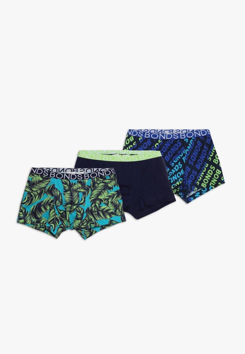 Bonds - TRUNK 3 PACK - Pants - green/multicolor
