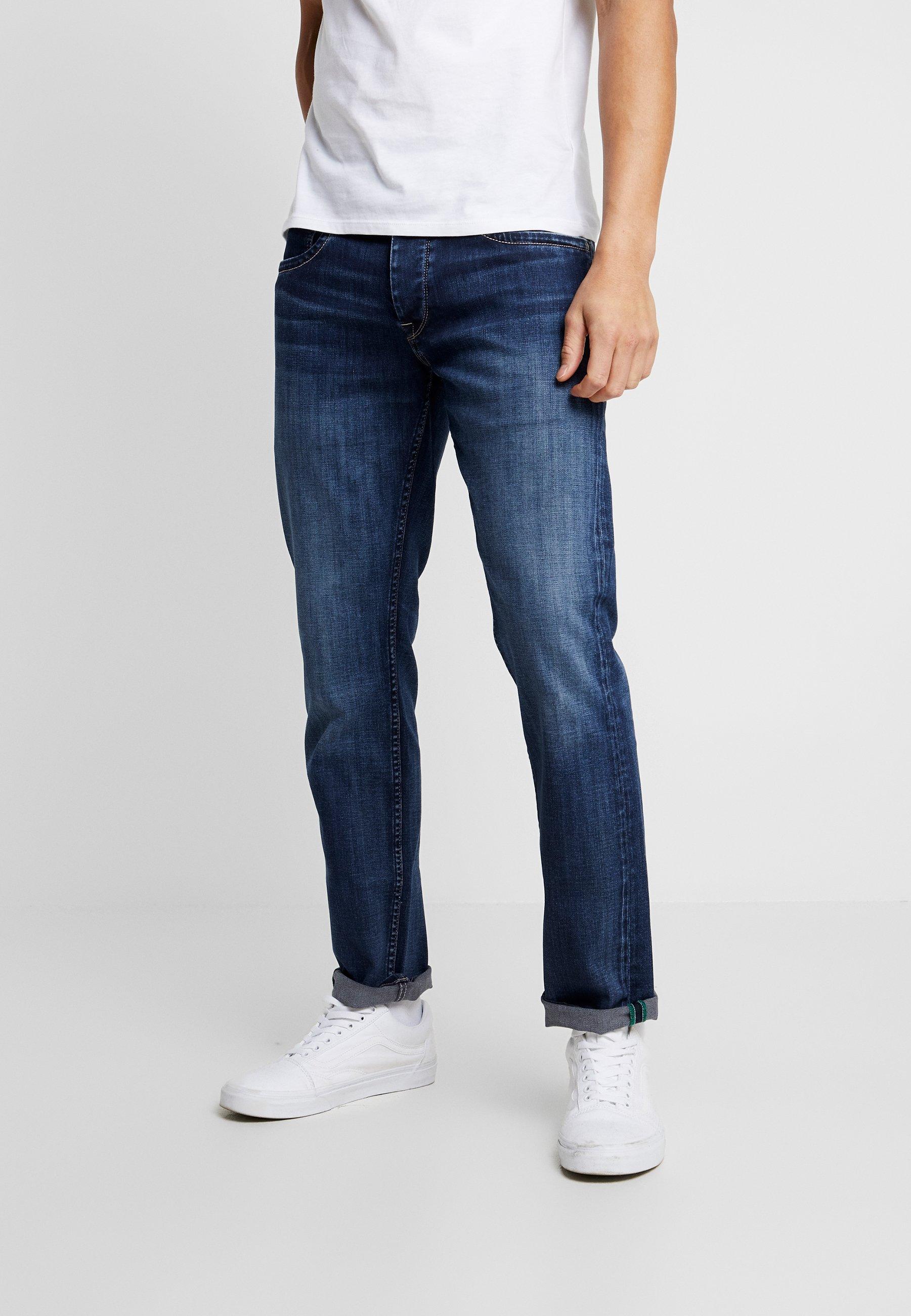 Suunnittelija Miesten vaatteet Sarja dfKJIUp97454sfGHYHD Pepe Jeans CASH Straight leg -farkut dark used wiser wash