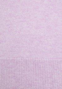 pure cashmere - MOCKNECK PUFF SLEEVE - Svetr - lavender - 2