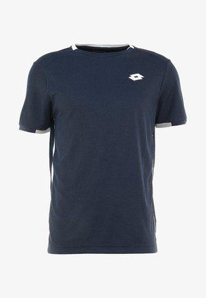 SQUADRA TEE  - T-shirts med print - navy blue