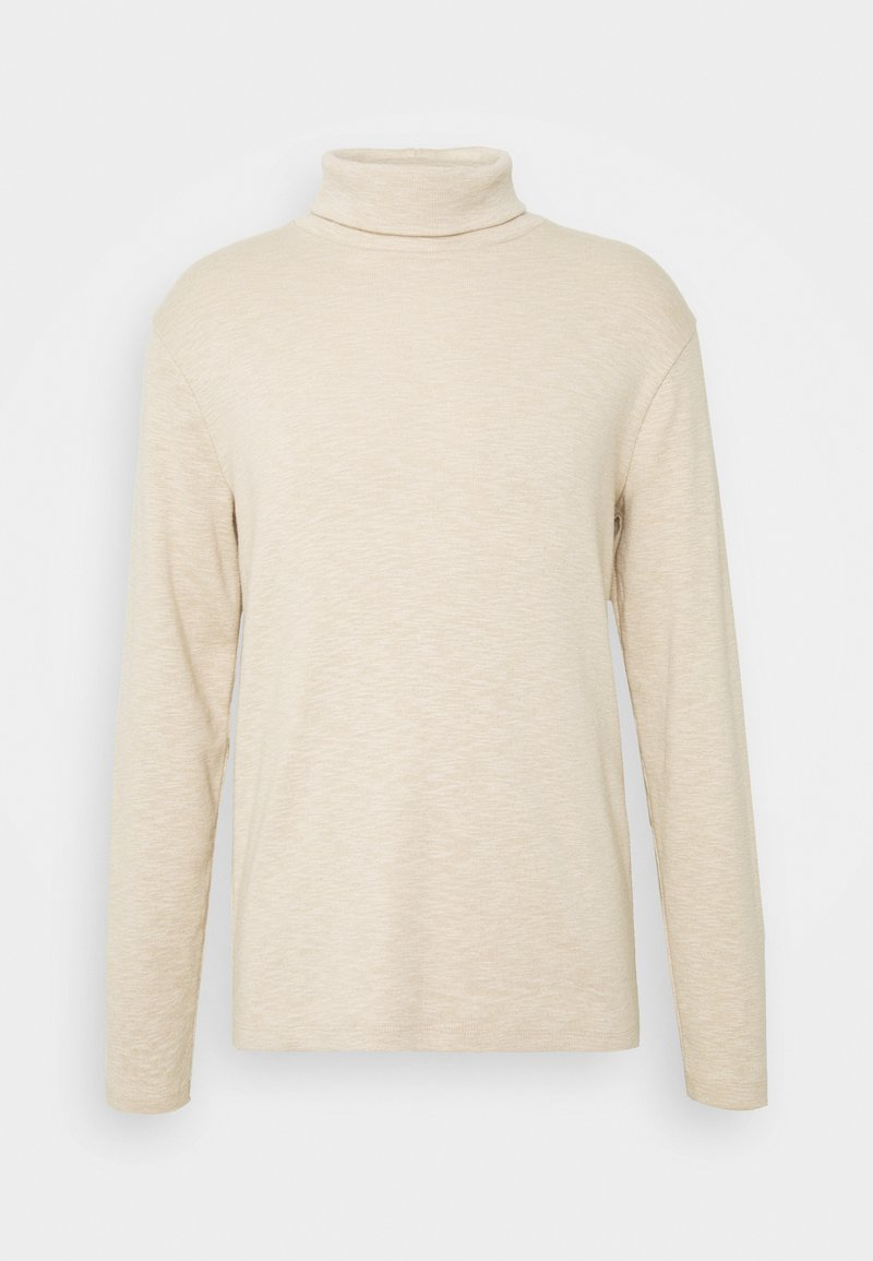 Abercrombie & Fitch - TURTLE NECK - Pullover - tan