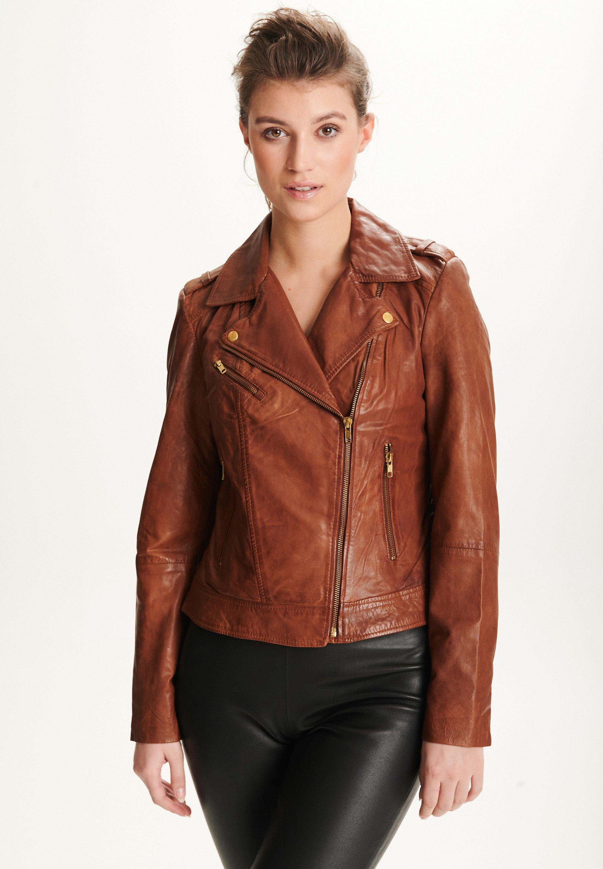 Femme NADINE - Veste en cuir