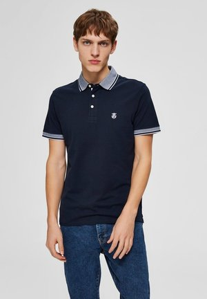 SLHTWIST  - Polo shirt - dark sapphire