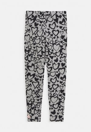 UNISEX - Leggings - grey/black/hazcor