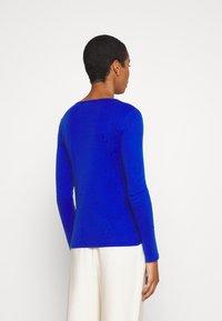 Benetton - Bluzka z długim rękawem - blue - 2