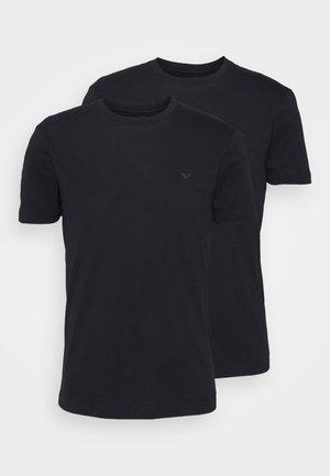 SET 2 PACK - Jednoduché triko - blu navy