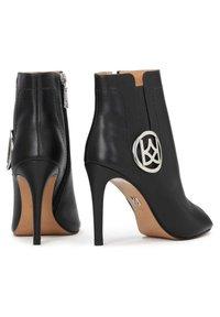 Kazar - MEGAN - Peeptoe heels - black - 3