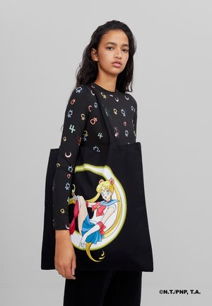 SAILOR MOON - Shopping Bag - black