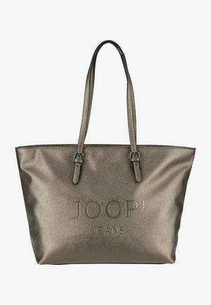 LETTERA LARA - Tote bag - gold