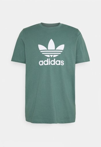 TREFOIL UNISEX - T-shirts print - hazy emerald/white