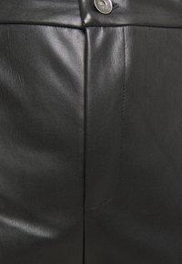 Noisy May Curve - NMCHIKA ANKEL PANTS - Kangashousut - black - 2