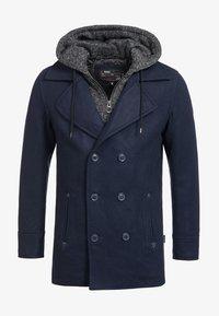 INDICODE JEANS - Krótki płaszcz - dark blue - 5
