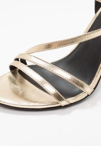ONLY SHOES - ONLAILA CROSS  - High heeled sandals - gold - 2