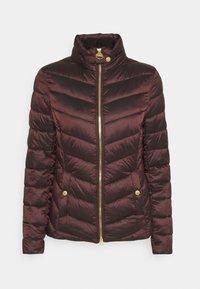 AUBURN QUILT - Light jacket - cocoa