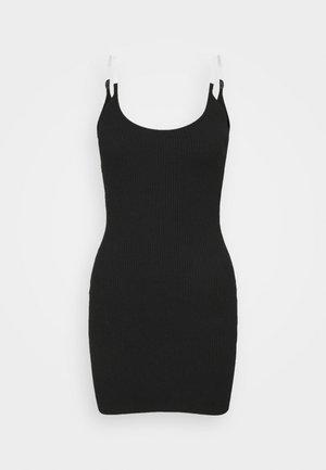 MINI DRESS - Jumper dress - black