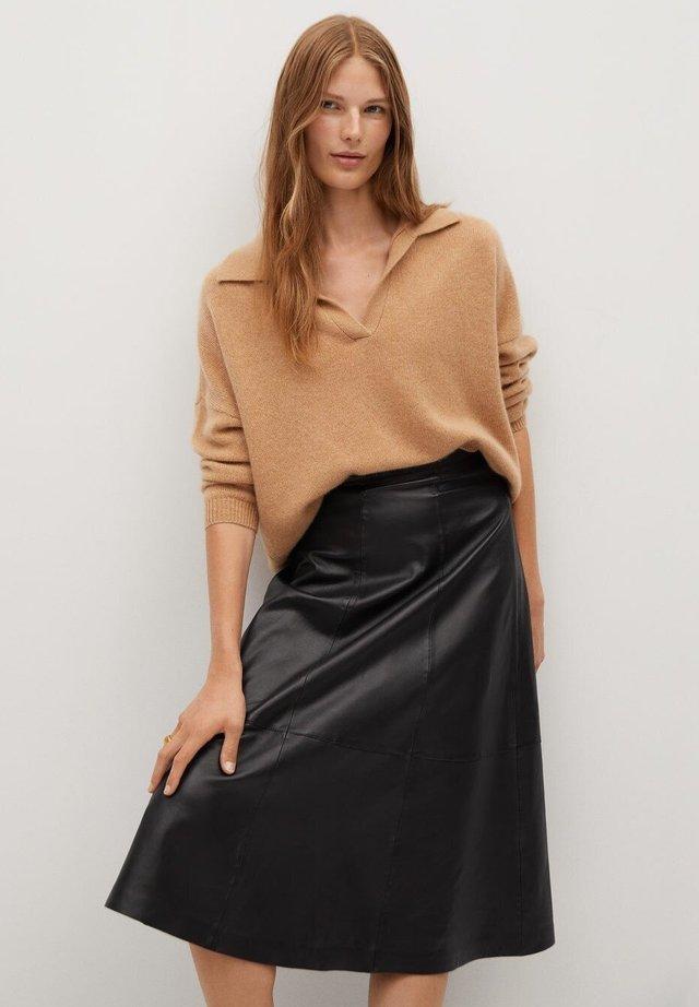 VUELO - A-line skirt - schwarz