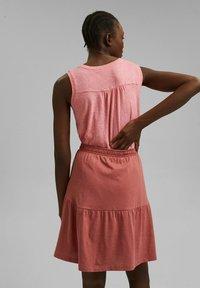 Esprit - A-line skirt - blush - 2