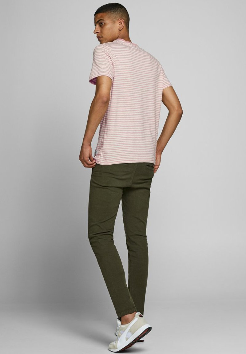 Jack & Jones PREMIUM Basic T-shirt - rose tan dSYWk