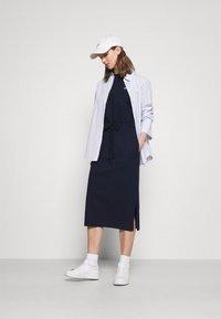Lacoste - Jersey dress - navy blue - 1