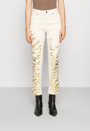 PANTS 5 POCKETS - Jeans a sigaretta - ecru
