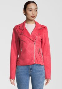Rino&Pelle - Faux leather jacket - teaberry - 0