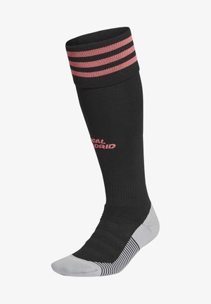 REAL MADRID KNEE - Sports socks - black