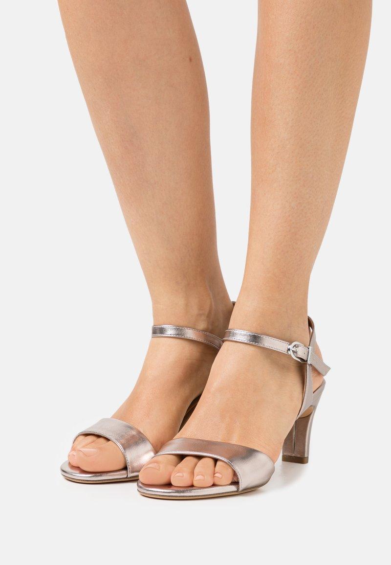 Tamaris - Sandals - rosegold metallic