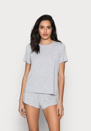 Basic short set - Pyjama set - light grey