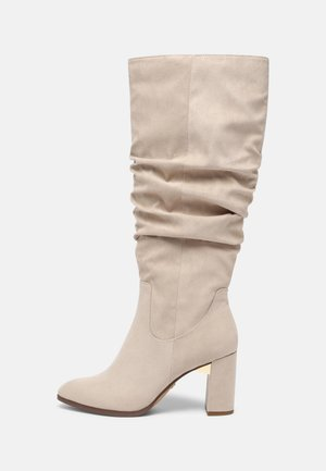 Boots - ivory