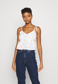 Hollister Co. - Top - white - 0
