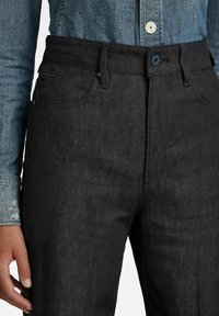 G-Star - DECK ULTRA HIGH - Flared Jeans - pitch black - 2
