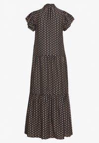 Whistles - ELEPHANT PRINT MIDI DRESS - Day dress - black - 1