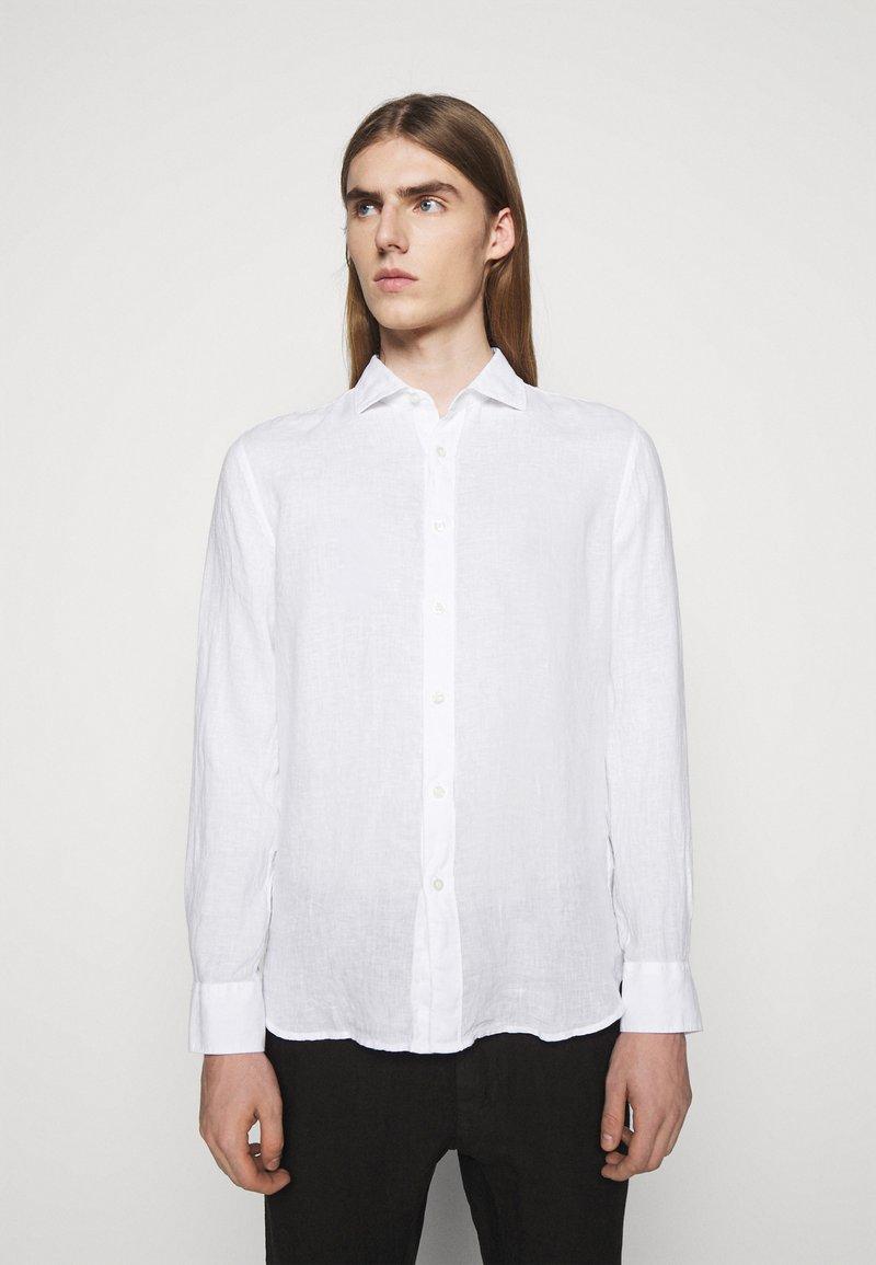 120% Lino - SLIM FIT - Košile - white