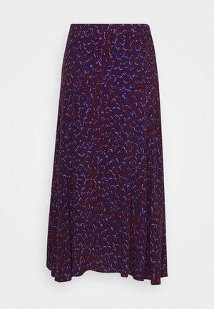 OLENKA - Áčková sukně - multi