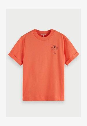 Print T-shirt - salmon