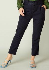 Yest - Cargo trousers - dark blue - 2