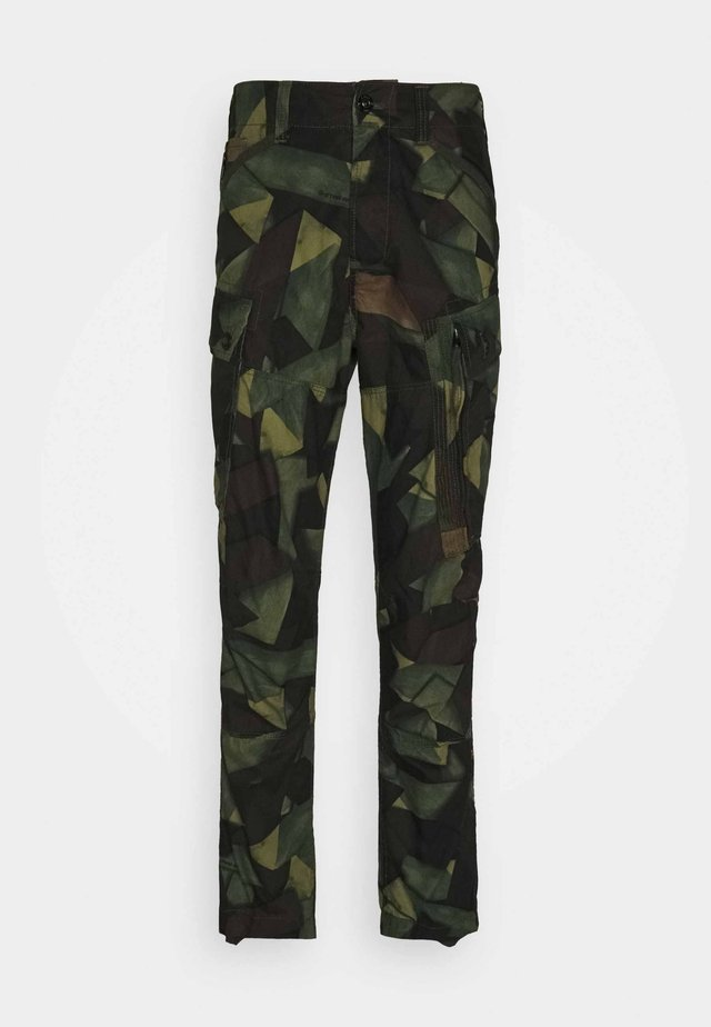 ROXIC STRAIGHT TAPERED PANT - Pantalon cargo - olive/brown